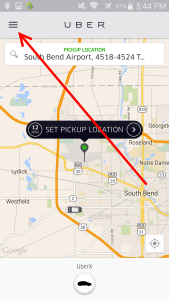 how to find out what your rider UBER rating is - how to - delta points blog (5)