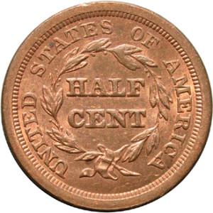 us half cent coin