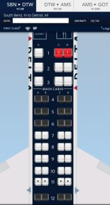 c+ seats and exit blocked now delta map