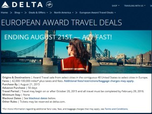 delta at last send out emails about the skymiles sale to europe