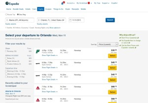 expedia 1 yes to basic fare