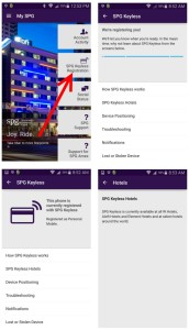 keyless entry spg app