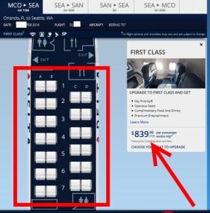no seats RU delta with NO seats sold