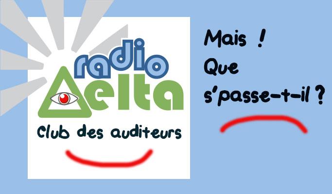 Message de service – maintenance du système d'authentification RadioDelta