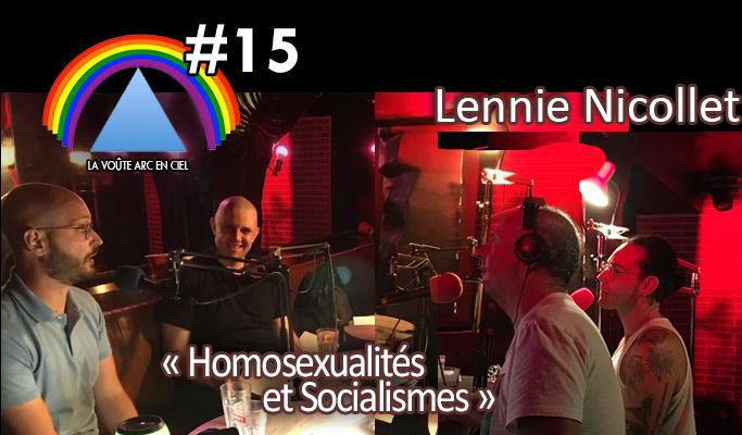La Voûte Arc-en-ciel #15 – 25 août 2020 – 20h – « Lennie Nicollet » –