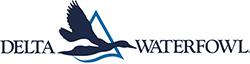 delta waterfowl blue logo