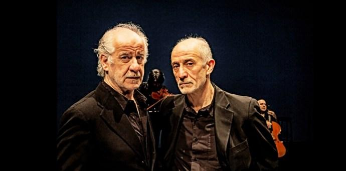 """Toni e Peppe Servillo in """"La parola canta"""""""