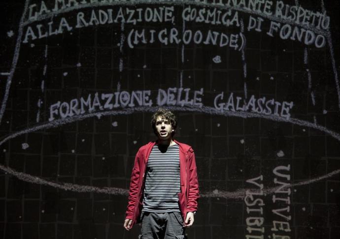Daniele Fedeli in Lo strano caso del cane uccido a mezzanotte.