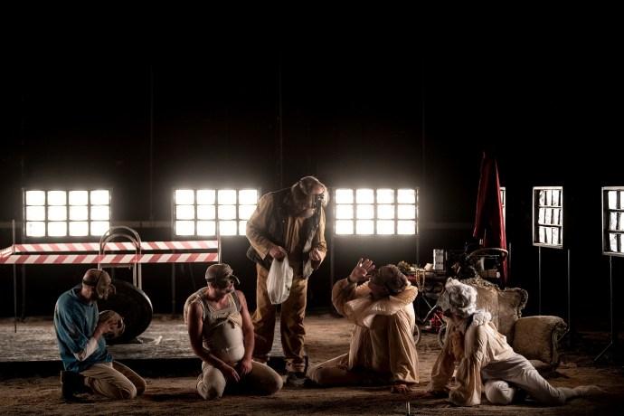 Pulcinella in purgatorio, regia di A. De Rosa