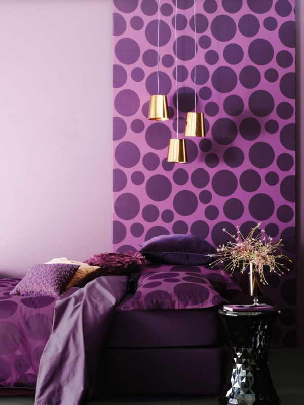Краска сиреневая для стен – Стены фиолетового цвета - 50 ...