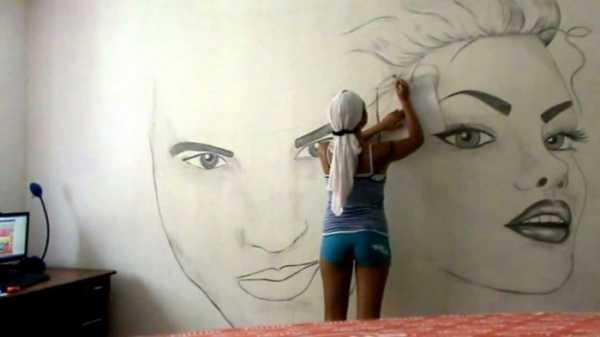 Рисунки из жидких обоев на стенах – Рисунки жидкими обоями ...