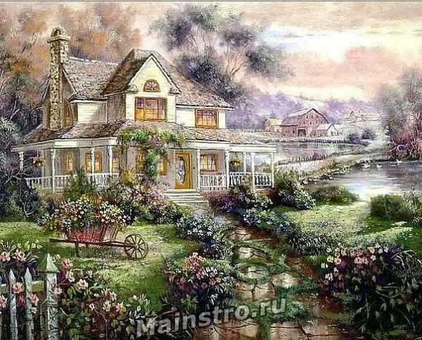 Сказочный домик картинка для детей – картинки и рисунки ...