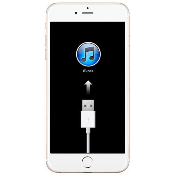 iPhone IP Klinik DeLuecKS Betriebssystem Repartur hängt im Recovery Modus fest