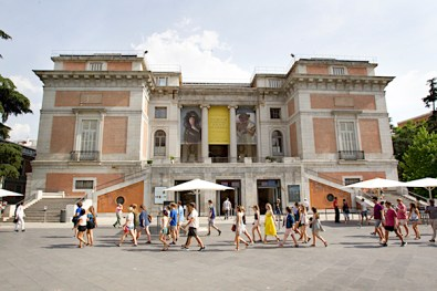 Vista general del Museo del Prado en Madrid. EFE