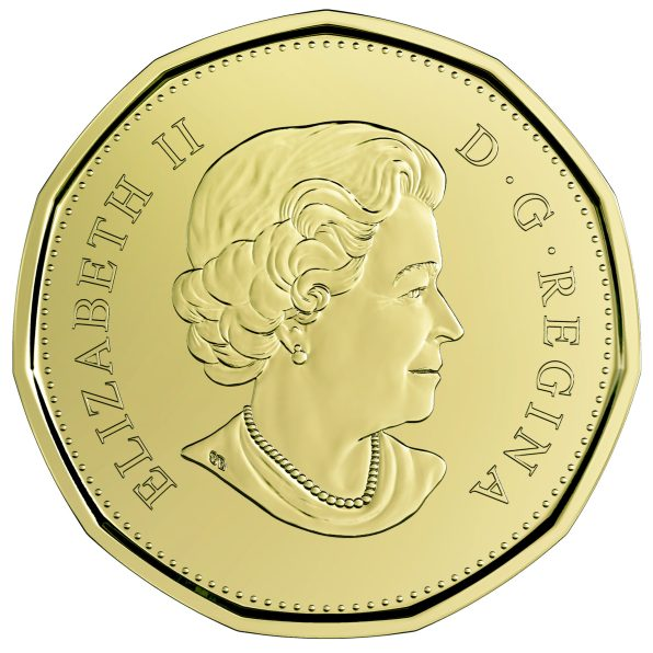 2019 $1 Canadian Circulation Coin - EQUALITY EMBARGO OBV