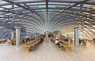 Joe and Rika Mansueto Library, Chicago, Illinois, EE.UU.