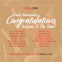 DeluxHair - Welcome To The Team!