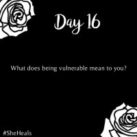 #31DaysSheHeals - Day 16