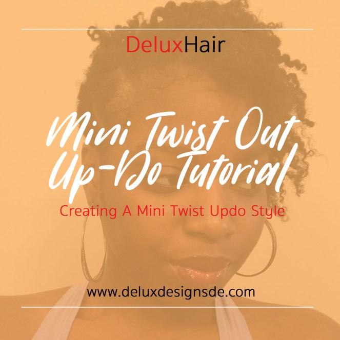 Mini Twist Out UpDo