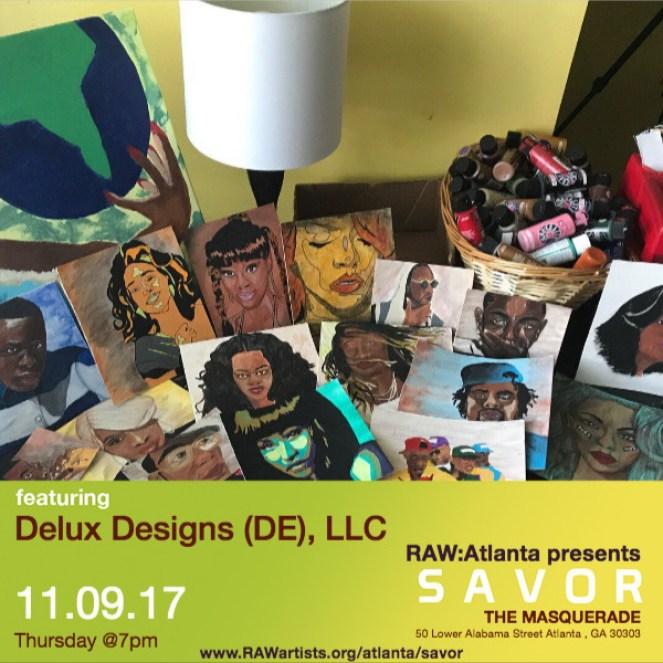 Delux Designs (DE), LLC-RAW Atlanta presents SAVOR