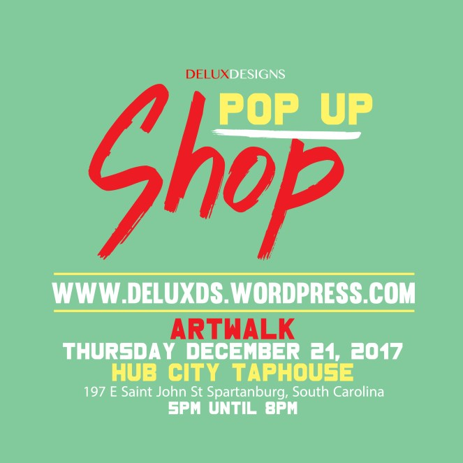 Pop Up Shop [Spartanburg, SC]