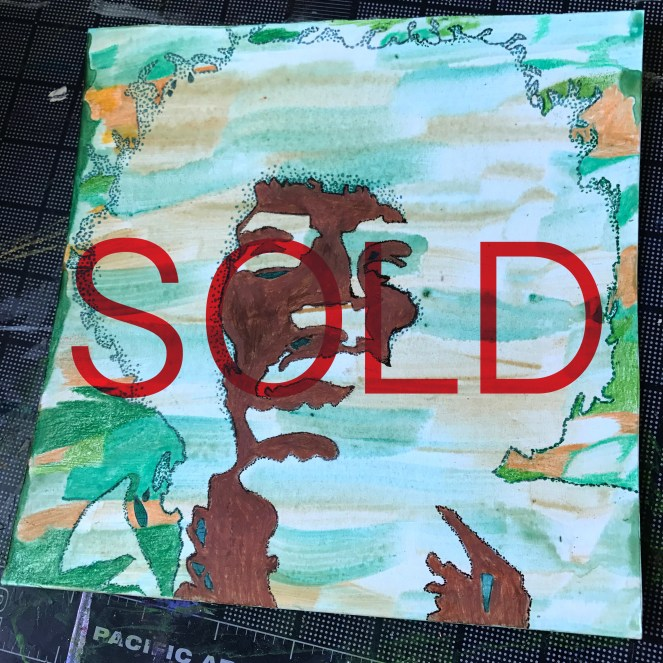 Jimi Hendrix SOLD