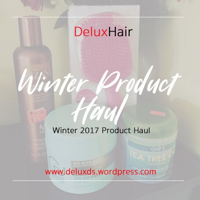 Winter Product Haul