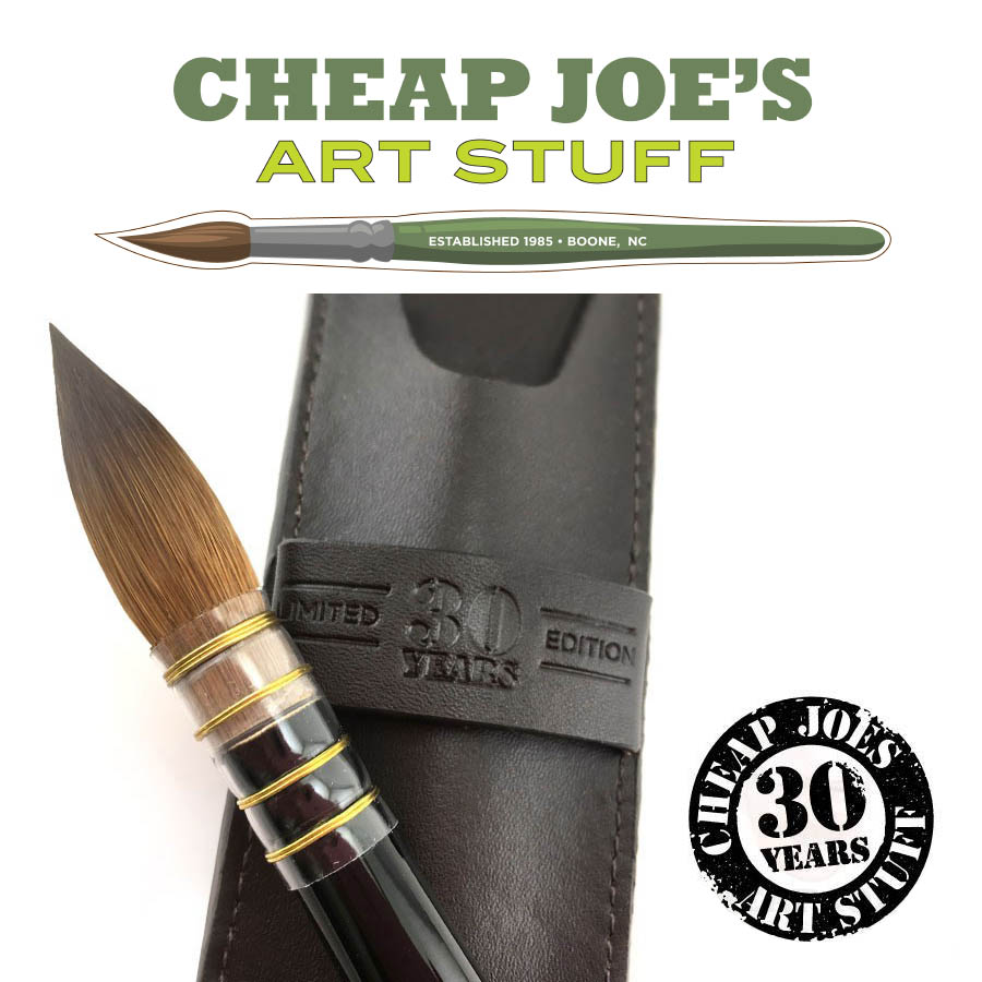 Cheap Joe's 30th Anniversary Kolinsky Sable Brush Giveaway!