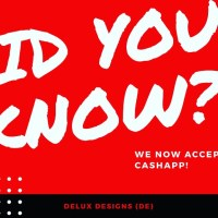 Did you know? We now accept CashApp!