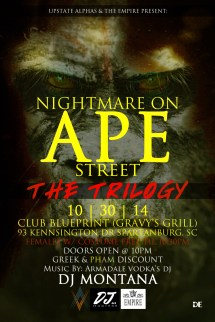 Nightmare on Ape Street