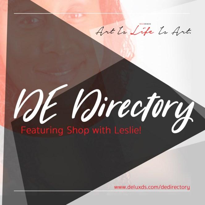 DE Directory - Shop with Leslie