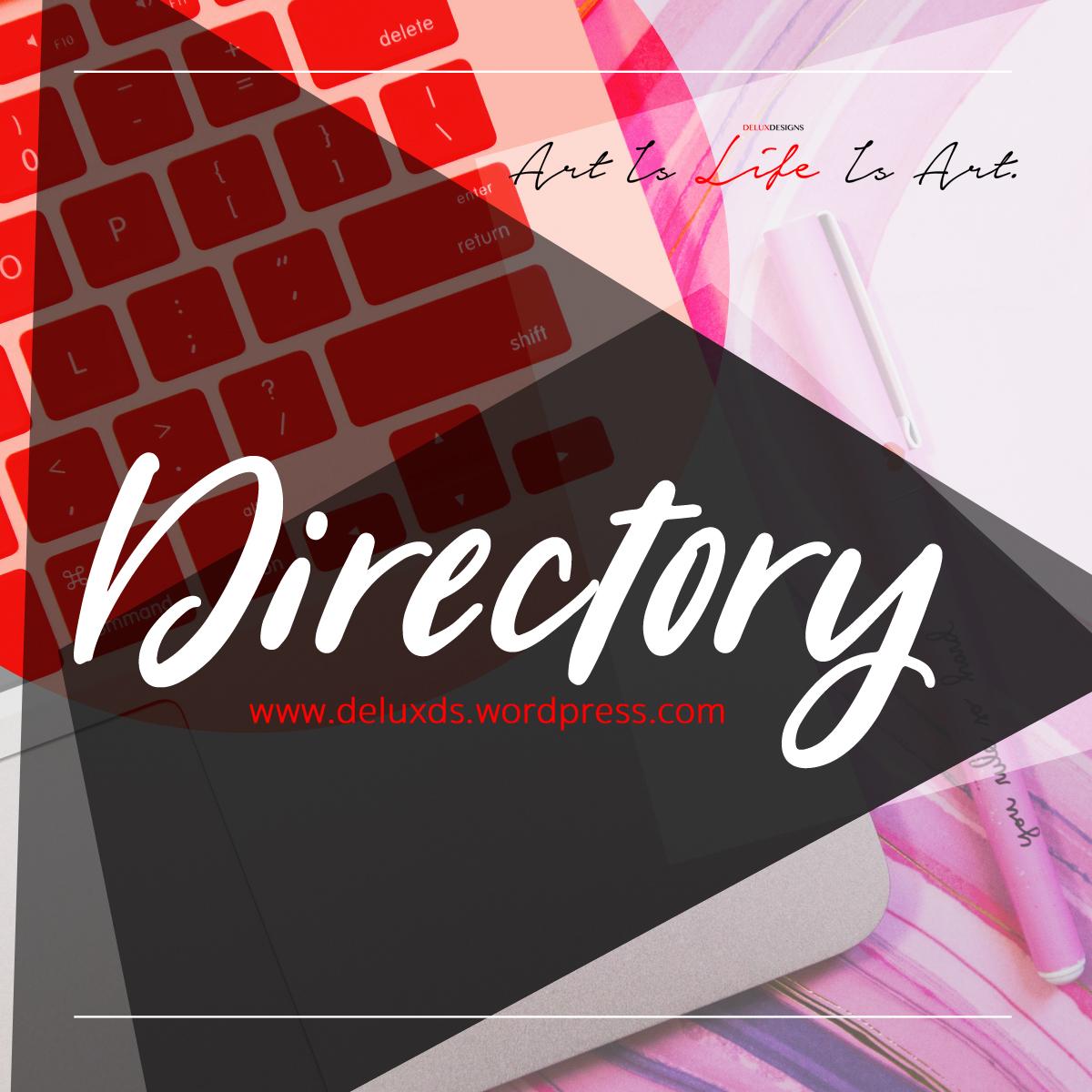 DE Directory - Webpages