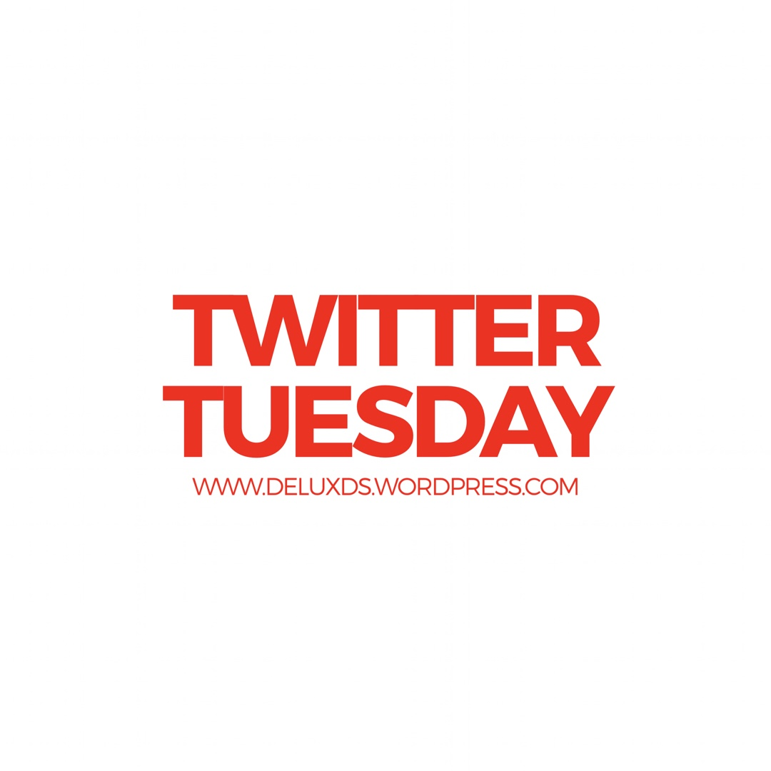 Twitter Tuesday while Blogging with DE