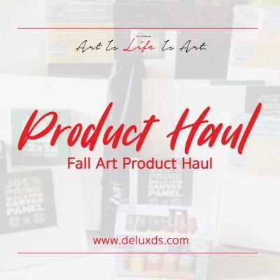 Art Product Haul