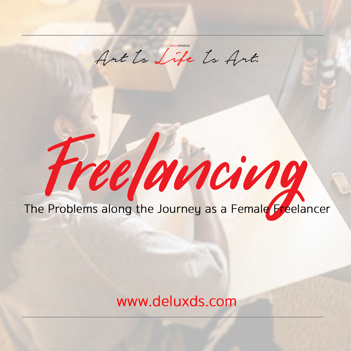 The Problems along the Journey as a Female Freelancer