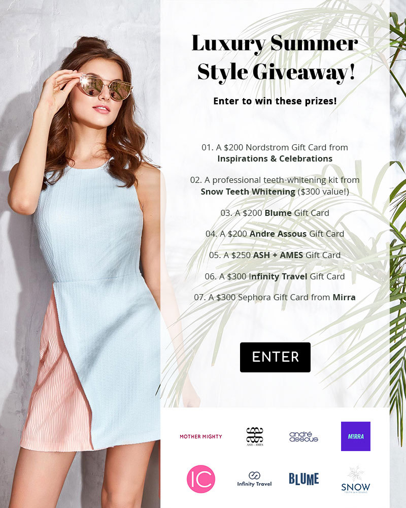 Luxury Summer Style Giveaway with M!rra