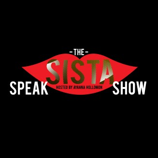The Sista Speak Show WB2 white