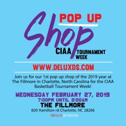 Pop Up Shop [Charlotte, NC] CIAA