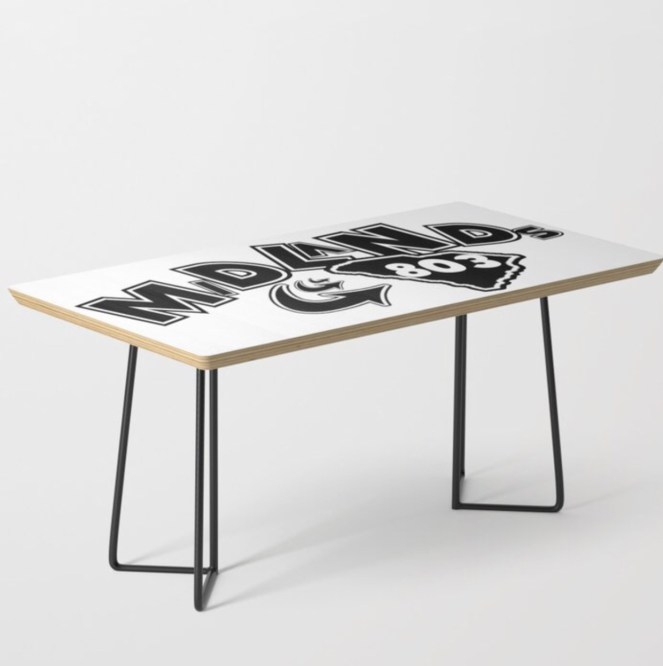 Midlands 803 Coffee Table designed by Visual Artist Keara Douglas of Delux Designs (DE), LLC
