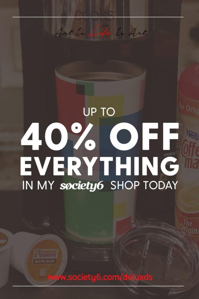 40% Off 3 Pinterest
