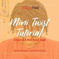 DeluxHair - Mini Twist Tutorial