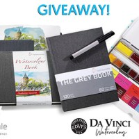 Hahnemühle Sketchbooks & Da Vinci Watercolor Giveaway with Doodlewash