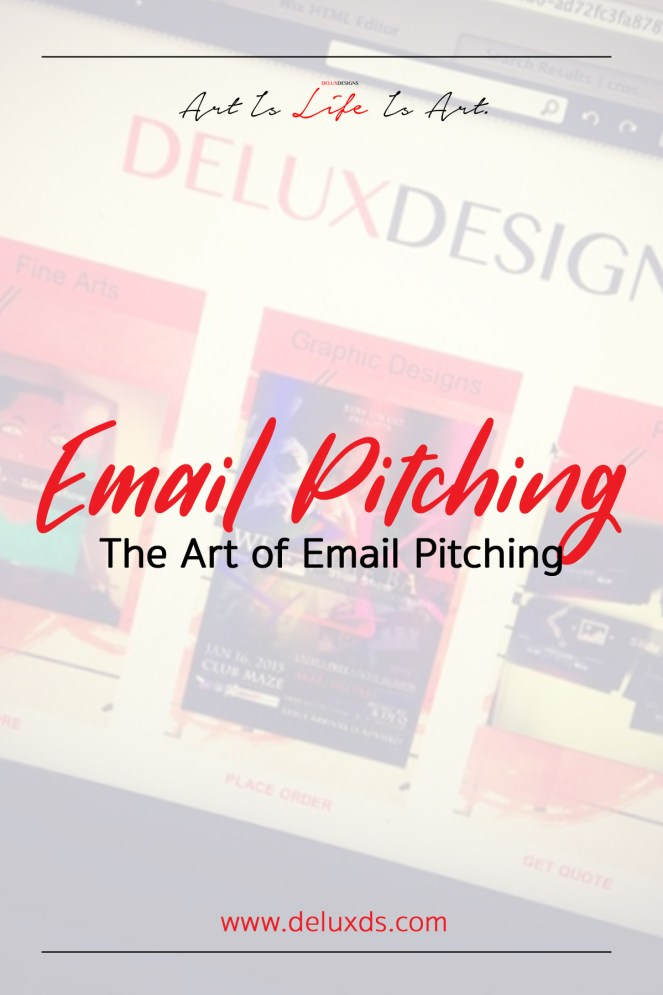 Email Pitching Pinterest