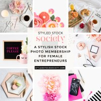 New Stock Photography & Pinterest Templates with Styled Stock Society