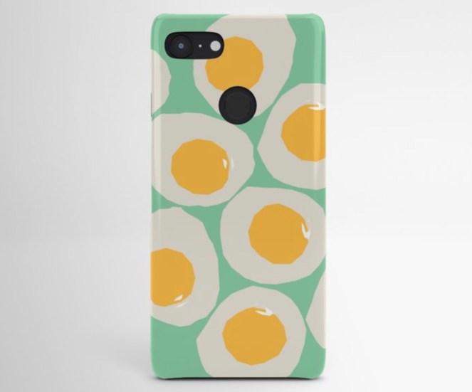 Egg Love Android Case designed by Visual Artist Keara Douglas of Delux Designs (DE), LLC.
