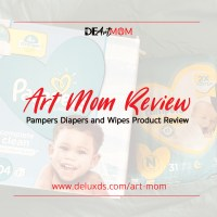 #DEArtMom - Pampers Product Review