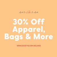 Apparel, Bags and More Sale with Society6