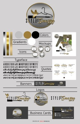 Style of Snazzy Brand Style Guide