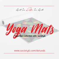 New Yoga Mat Collection with Society6