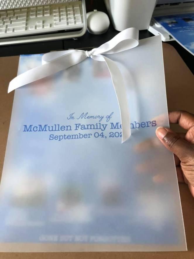 Memorial Program/Flyer